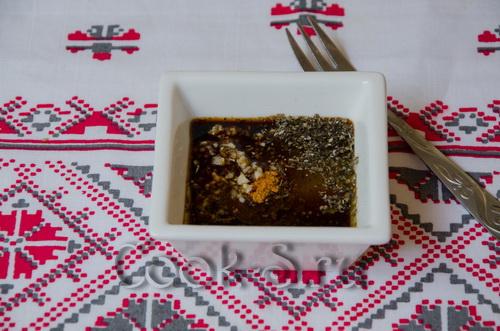 Куриная пастрома с соевым соусом – кулинарный рецепт