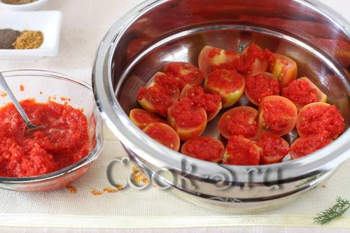 помидоры по-корейски быстрый рецепт